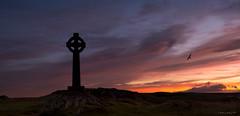 First Light (AKG37) Tags: cross sunrise colour landscape wales sillouette