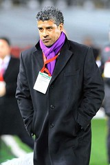 Frank Rijkaard (l3o_) Tags: galatasaray sar krmz red yellow football futbol frank rijkaard