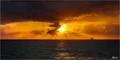Tango Atlantico (KlearNDE) Tags: ocean sea sun sunset seascape clouds