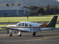 G-EGVA Piper Cherokee Arrow 28R (Aircaft @ Gloucestershire Airport By James) Tags: gloucestershire airport gegva piper cherokee arrow 28r egbj james lloyds