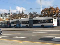 VBL Trolleybus #205 in Lucerne, Switzerland (Reto Kurmann) Tags: 205 hess swisstrolley