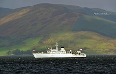 HMS Cattistock (Zak355) Tags: rothesay isleofbute bute scotland scottish royalnavy riverclyde hmscattistock m31 minesweeper shipping ship boat vessel