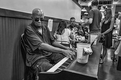 Reading Terminal Market, 2016 (Alan Barr) Tags: philadelphia 2016 readingmarket readingterminalmarket markets street sp streetphotography streetphoto blackandwhite bw blackwhite mono monochrome candid people group ricoh gr