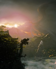 Shadow Warrior 2 (ConnecteD\_) Tags: shadow warrior 2 mountains screenshot panoramic panorama