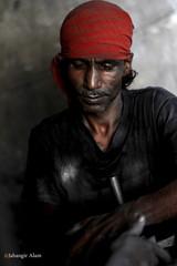 Darkroom Worker (jalam@machizo.com) Tags: darkroom worker portrait pepole work bangladesh color ngc
