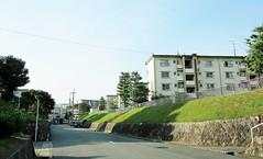Koridanchi District 1760 (Tangled Bank) Tags: koridancho hirakata japan japanese asia asian town city suburban residential buildings architecture structure condominium apartment