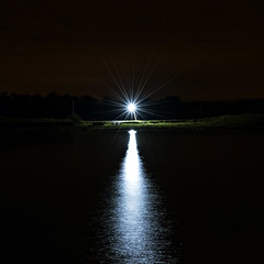 2016-10-22_19-48-36_001 (basma4ru) Tags: night lake lamp
