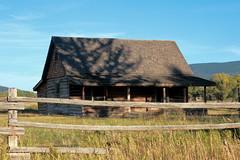 Old Log Cabin, Mormon Row - Grand Tetons National Park, Wyoming (danjdavis) Tags: mormonrow grandtetonsnationalpark nationalpark wyoming logcabin cabin