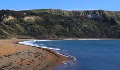 White Nothe from Ringstead Bay - Dorset 171016 (2) (Richard Collier - Wildlife and Travel Photography) Tags: dorset coastal coastalcliffs coastallandscape southcoast ringstead bay white nothe seascape
