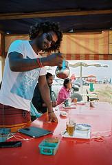 (louis de champs) Tags: minoltasrt101 mdwrokkor35mm28 film kodak portra160 taghazout morocco tea mint