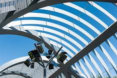 Puente de Arganzuela, Madrid (jacqueline.poggi) Tags: dominiqueperrault espagne españa madrid puentedearganzuela spain architect architecte architecture architecturecontemporaine arquitectura bridge footbridge pasarela passerelle contemporaryarchitecture