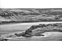 Miller Island, Columbia Gorge OR (cristian_jordache) Tags: oregon marihill museum overlook columbia river pacific portland water gorge west northwest bw nikon d90