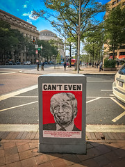 2016.10.24 Can't Even Poster - Donald Trump, Washington DC USA 3268