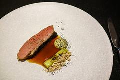 Duck Breast, Eggplant, Leek, Korean Date (Premshree Pillai) Tags: singapore singaporeaug16 summer summer2016 meta restaurant dinnerorone dinner food dinnerforone