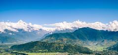Annapurna Range (Bokeh-Dokey) Tags: annapurna machapuchare nepal pokhara fujixt1