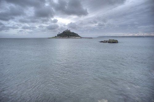 St Michael's Mount as an island