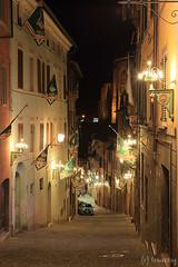 Siena at Night (tomosang R32m) Tags: siena toscana   italia italy piazzadelcampo   palazzopubblico  torredelmangia night yakei  lights lighting