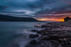 Blue hour is always magical (Vagelis Pikoulas) Tags: long exposure porto germeno greece autumn november 2016 landscape sea seascape blue house rock rocks waves wave wavy europe canon 6d tok 1628mm view sun sunset sky clouds cloud cloudy