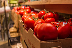 Tomatos at the Market (JMFusco) Tags: urban manhattan tomato nyc newyorkcity newyork vegetables ny grandcentralterminal