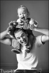 Anthony & Lo. (nanie49) Tags: france enfant enfance child kid childhood bambino infanzia nio infancia kindheit  nikon d750 portrait retrato nanie49 nb bn