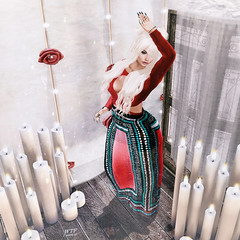 ~Boho~ (ɱơƥƥєɗ aka Nessie Ryan) Tags: fashionblogger fashionoutfit fashion fashionblogging meshhead meshhair meshbody mesh nessieryan nessie ryan wordpress whatthefuckiwantit secondlifeblog secondlife secondlifeblogger second life virtualworld virtuallife virtual outfit slblogger slblog sl 2ndlife avatar ava hair indented tableauvivant top skirt maitreya