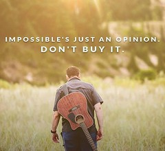 Impossible's just an opinion. Don't buy it. Sandeep Gautam (Sandy Gautam) Tags: ifttt facebookpages love health wealth money luck happiness friendship motivation inspiring inspiration care positivity fame dollar pond thoughts quotes messages royal dreams achievement harmoney impression attraction sandeep gautam celebrity sandeepguatam mr world universe