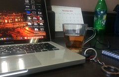 #BlackTea with #MacBook & Car Key , a perfect set for Office Desk ( a #teacup with #AppleMacBookPro ) in New Delhi , by #jitenkardam in #SRSG Broadcast India Pvt Ltd (Jiten Kardam) Tags: blacktea macbook teacup applemacbookpro jitenkardam srsg