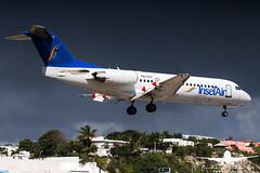 InselAir Fokker 70_AH3V3544 (RJJPhotography) Tags: sxm saintmaarten princessjulianainternationalairport caribbean tncm inselair fokker70 p4fkc