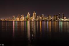 Colored San Diego (silberne.surfer) Tags: california usa nikon sandiego urlaub nikkor coronado kalifornien langzeitbelichtung sandiegoskyline 2015 uww lte nikkorafs1635mmf4g nikond750