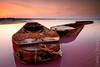 Salinas de Torrevieja. (Carlos J. Teruel) Tags: sunset atardecer nikon mediterraneo inverso marinas torrevieja barcazas xaviersam carlosjteruel d800e