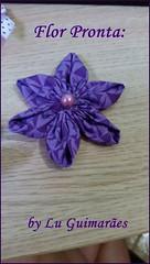20150813_174444 (Artesanato com amor by Lu Guimaraes) Tags: flor artesanato fuxico pap tecido