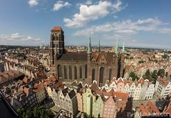 Vue aérienne de la cathédrale