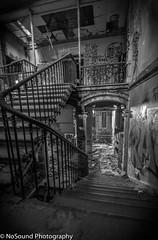 Urbex-escalier (NoSound Photography) Tags: streetart color painting graffiti squat sombre hardcore exploration maison escalier usine abandonne batiment urbex peur delabre nosoundphotography