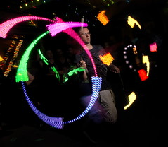 Custom Poi (John Flinchbaugh) Tags: party music reunion dance warehouse chester pa rave philly godsbasement