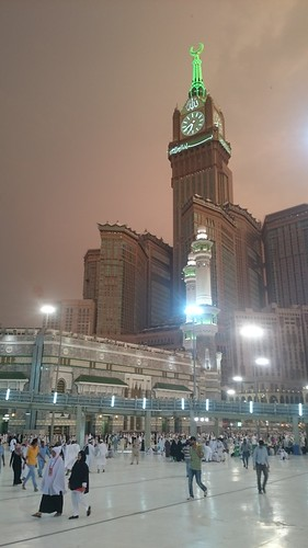 Makkah Clock Tower,  Makkah, Saudi Arabia