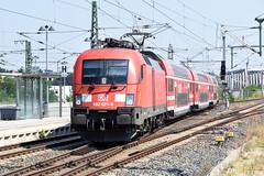 182 021-6 DB Regio Dresden Neustadt 07.08.15 (Paul David Smith (Widnes Road)) Tags: dresden siemens taurus dbag baureihe182 dbregio db182 br182 182021 1820216