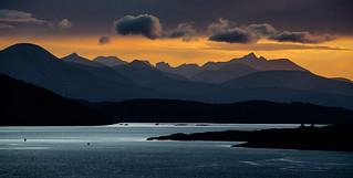 The Cuillins; Seen From Dornie
