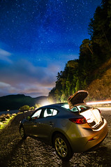 Catch the light (Hongyu Guo) Tags: night olympic olympicnationalpark milkyway