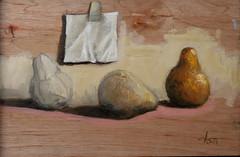 Composicin con peras (ca.chezmay) Tags: arte artistas pinturas casm oleosobretela