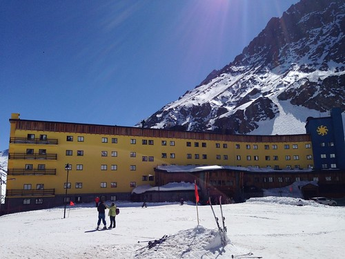 The only hotel in Portillo