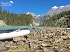 Kayaking in the Rockies (miss604) Tags: mobile forest river golden waterfall kayak falls adventure explore kayaking rockymountains kootenays kootenay iphone goldenbc kootenayrockies explorebc kootrock