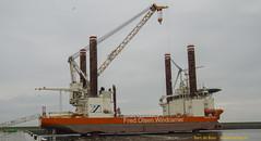Fred Olsen Windcarrier (Bert de Boer) Tags: de boer offshore nederland bert fred olsen 7000 eemshaven saipem windcarrier