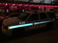 Chicago Police car (ioannis_papachristos) Tags: safety serveprotect fluorescentreflection flashlightreflected october fall autumn car vehicle protection security urban travel street road iphonecameraphotography iphonecamerashot iphone6pluscamerashot iphone6plusshot iphonephotography weserveandprotect serveandprotect unitedstates usa us flashon reflective reflection fluo fluorescent policecar illinois chicagoil chicago police chicagopolice chicagopolicedept