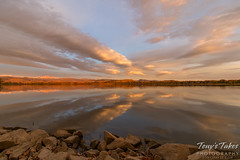October 25, 2015 - A beautiful sunrise at Longmont's McIntosh Lake. (Tony's Takes)