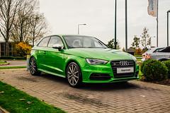 Audi S3 (Listers Group) Tags: listers automotive car vehicle event audi birmingham solihull stratford coventry nuneaton bmv honda skoda toyota jaguar landrover