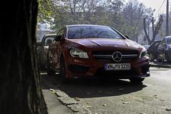 Mercedes-Benz CLA 45 AMG C117 (Vuk Vranic) Tags: red cars car digital canon eos 350d mercedes serbia vuk 45 exotic mercedesbenz belgrade canoneos350d luxury beograd bg bgd amg cla srbija 2015 carspotting c117 canoneos350ddigital worldcars vranic autogespot cla45 cla45amg claamg