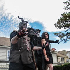 We sing for BLOOD! (gaila3) Tags: halloween zombiewalk smithvillenj gaila3 lrdone