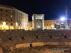 Roman Amphitheatre in Lecce - Puglia, Italy (uncorneredmarket) Tags: italy architecture puglia lecce romanamphitheatre pugliaroadtrip