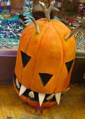 IMG_4368 (danimaniacs) Tags: santafe art pumpkin colorful jackolantern