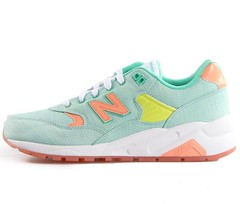 NB WRT580ST Women New Balance 580 Ice Sand Retro Blue Orange Sneaker (RobertThrashy) Tags: shopping discount cheap runningshoes coupon womensshoes retrostyle onlinestore newbalance580 fashionsneakers popularshoes